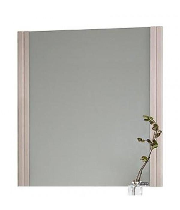 Зеркало для ванной Флоренц 75 см, дуб