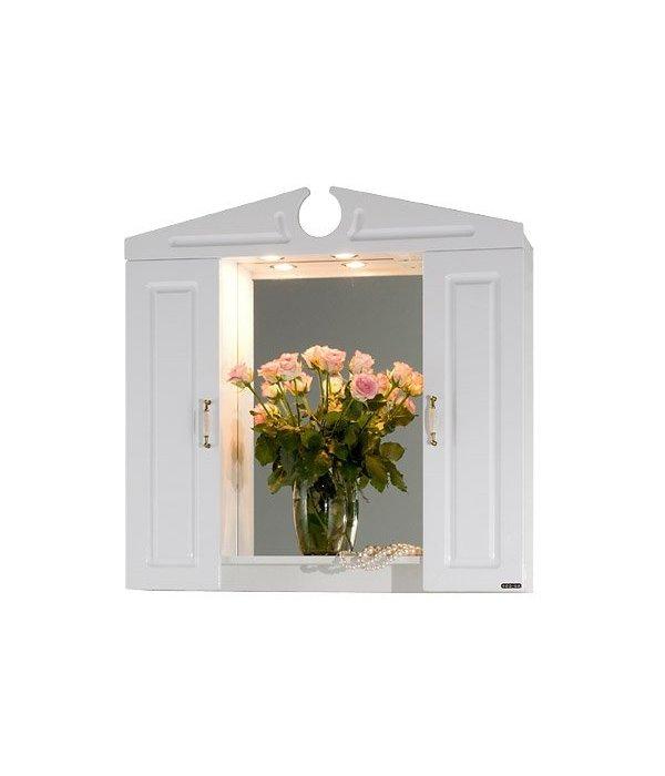 Зеркало для ванной 90 1.4, белый