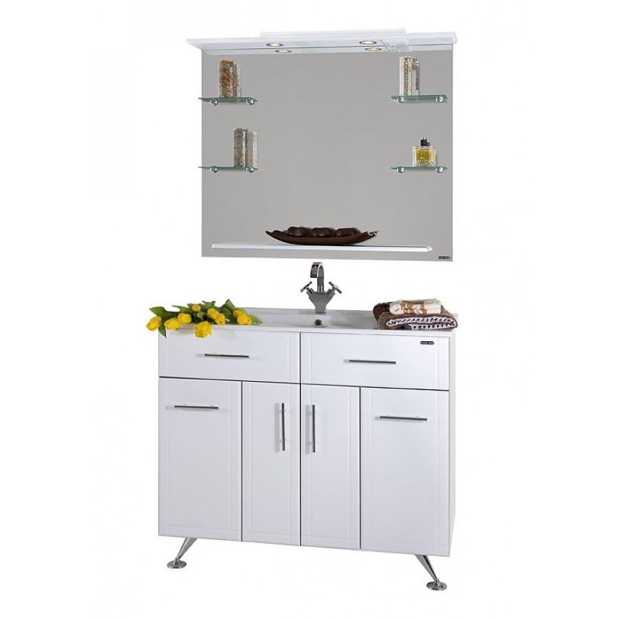 Комплект мебели 100 1.3 К, белый