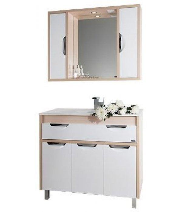 Комплект мебели 120 1.9, белый/дуб