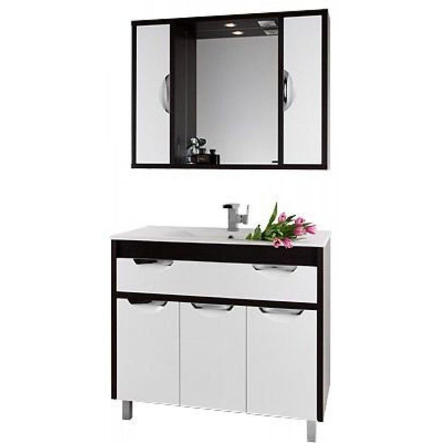 Комплект мебели 120 1.9, белый/венге