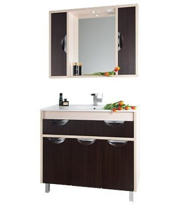 Комплект мебели 120 1.9, дуб/венге