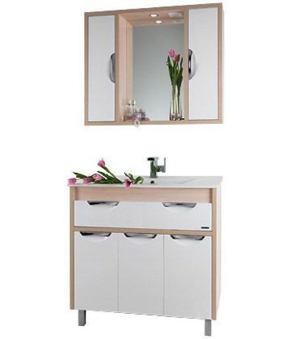 Комплект мебели 90 1.9, дуб/белый