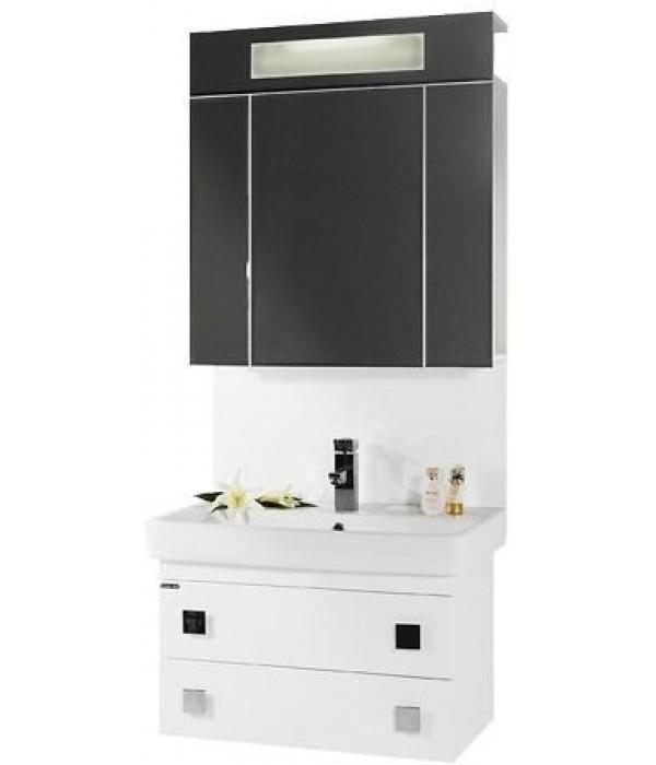 Комплект мебели 70 1.7 подвесной, белый