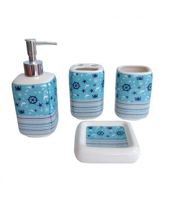 SEA Набор аксессуаров для ванной, 4 предмета