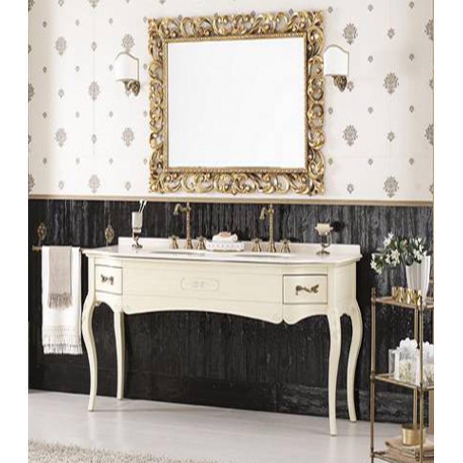 Комплект мебели Bagno Piu Versailles 178 Венецианская патина на 2 умывальника