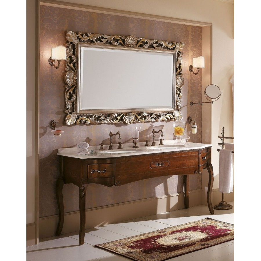 Комплект мебели Bagno Piu Versailles 178 Орех на 2 умывальника