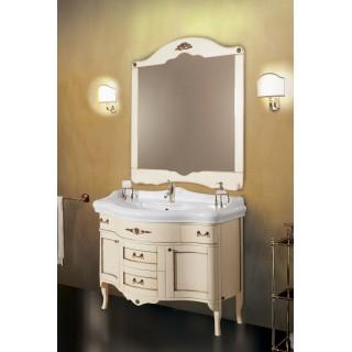 Комплект мебели Bagno Piu Palladio 110 Венецианская патина с золотом