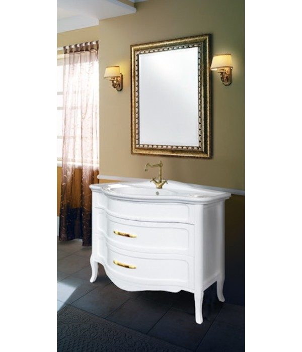 Комплект мебели Bagno Piu Raffaello 110 Белый матовый