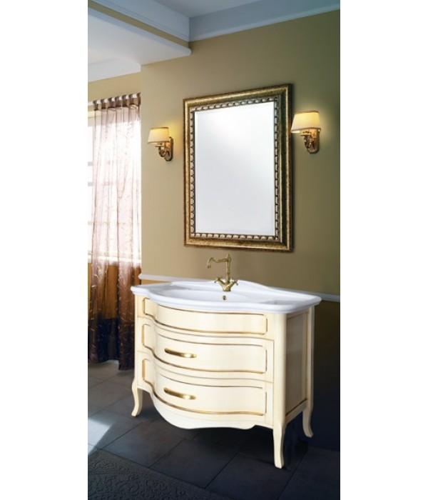 Комплект мебели Bagno Piu Raffaello 110 Венецианская патина с золотом