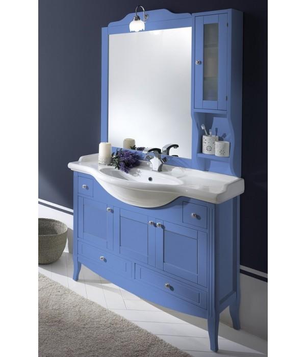Комплект мебели Bagno Piu Sophia 105 голубой с «глухими» дверцами