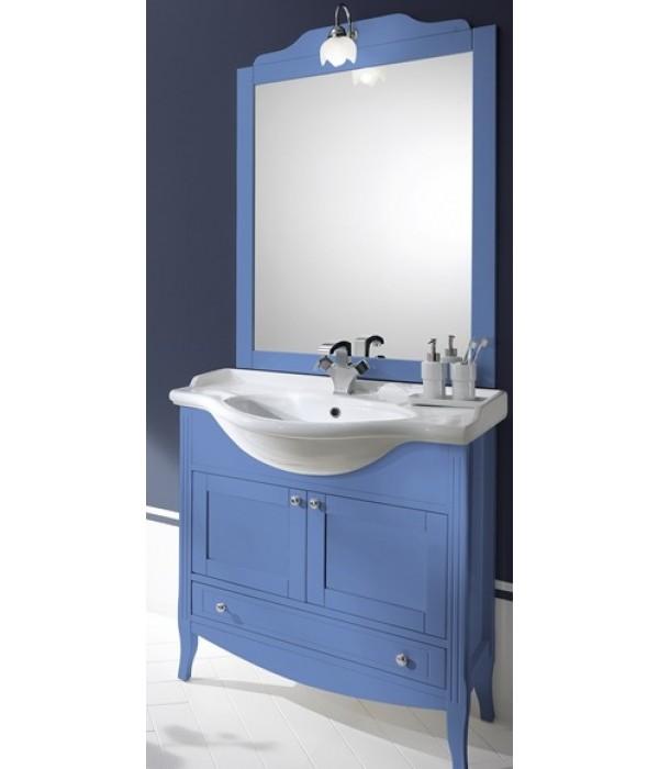 Комплект мебели Bagno Piu Sophia 85 голубой с «глухими» дверцами