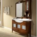 Комплект мебели Bagno Piu Sophia 105 Орех с дверцами под стекло