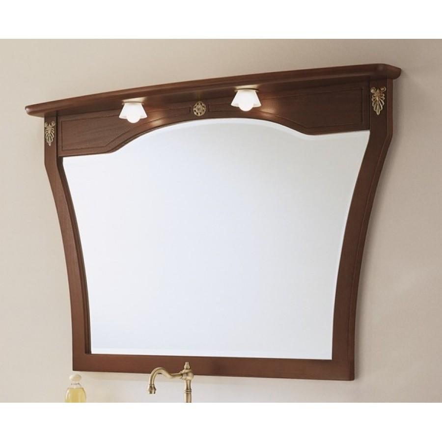 Зеркало в отделке Орех Bagno Piu Poesia 120