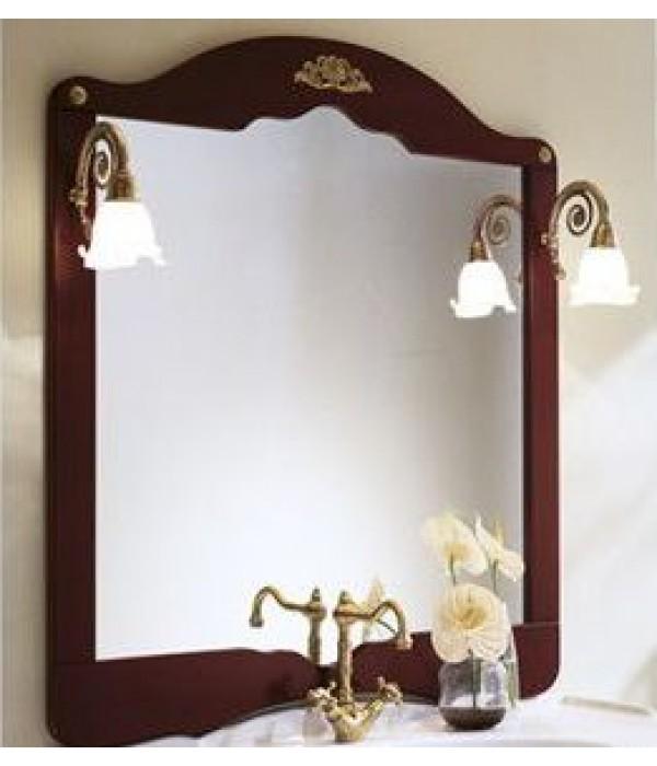 Зеркало в отделке Палисандр Bagno Piu Palladio 100