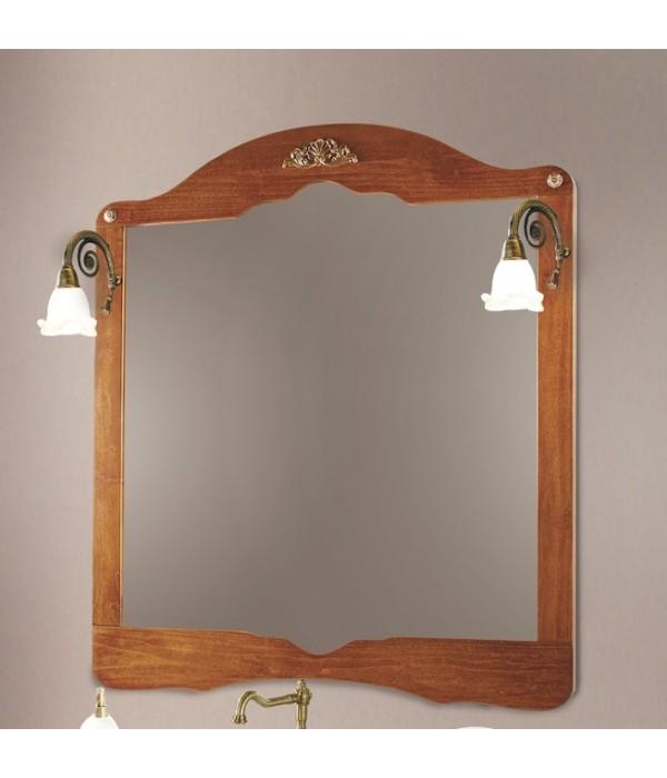Зеркало в отделке Орех Bagno Piu Palladio 100