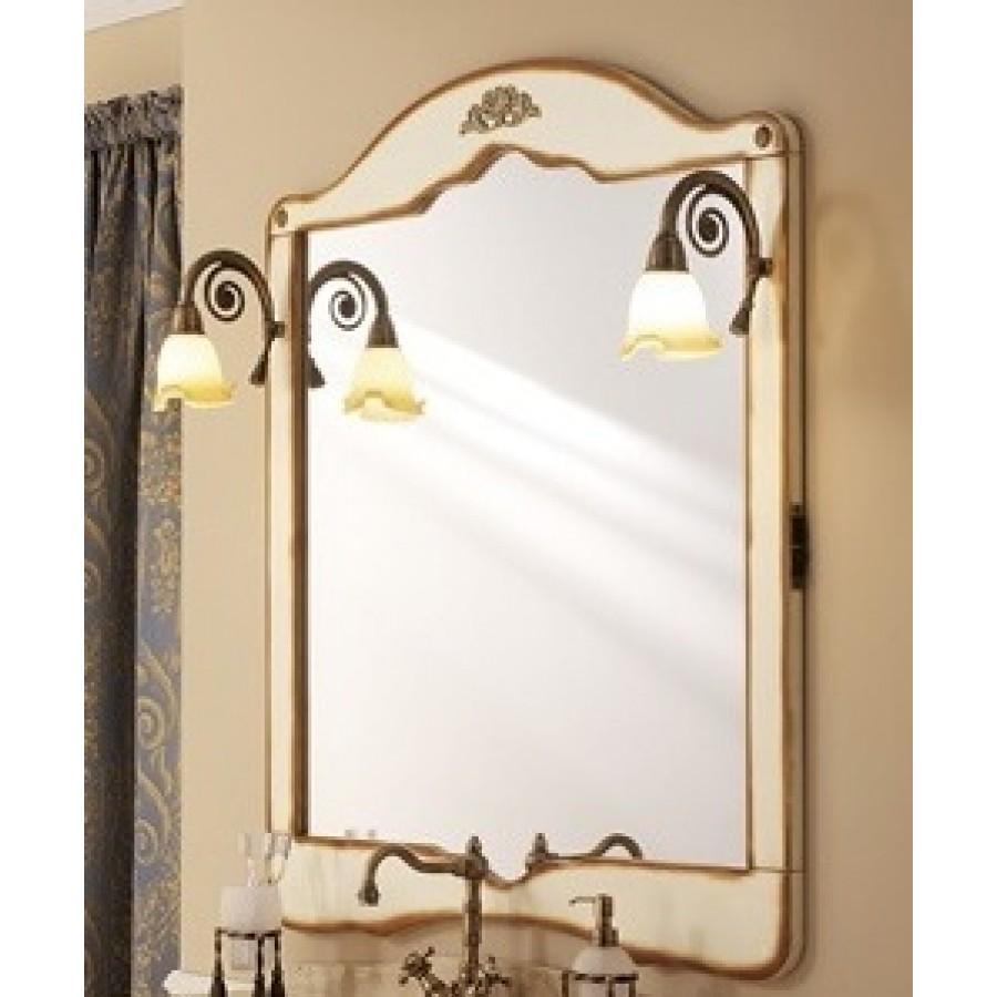 Зеркало в отделке Табачная патина Bagno Piu Palladio 100