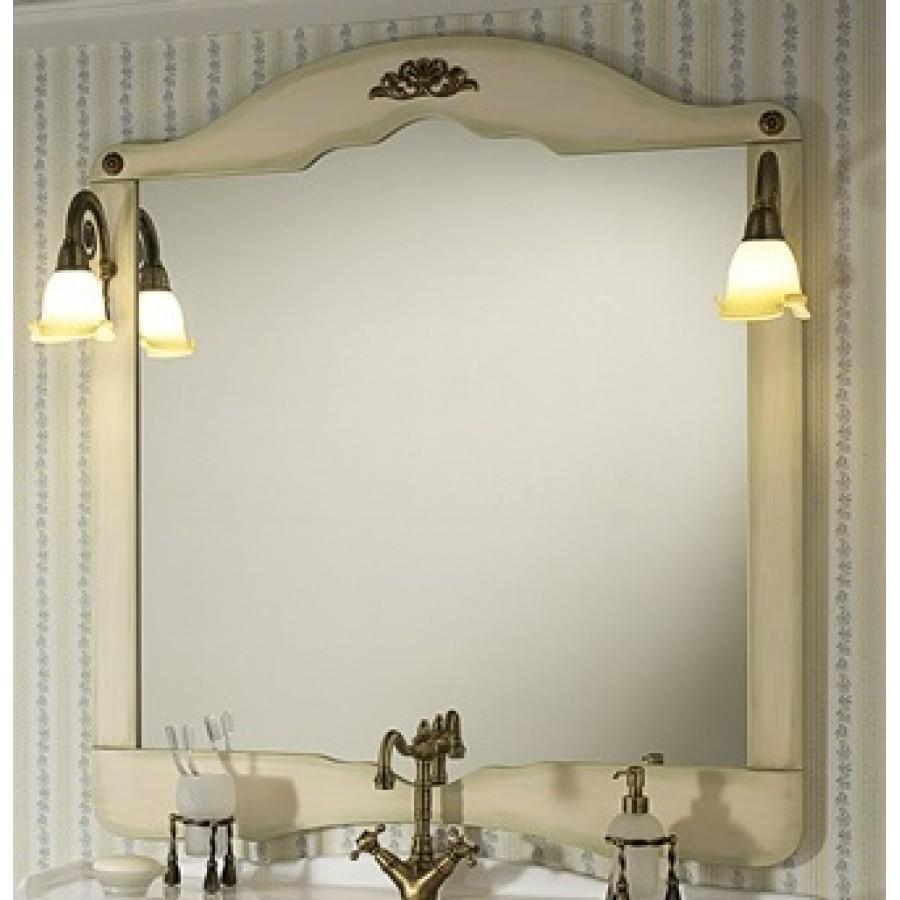 Зеркало в отделке Зеленая патина Bagno Piu Palladio 100