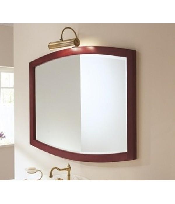 Овальное зеркало в отделке Палисандр Bagno Piu Poesia 120