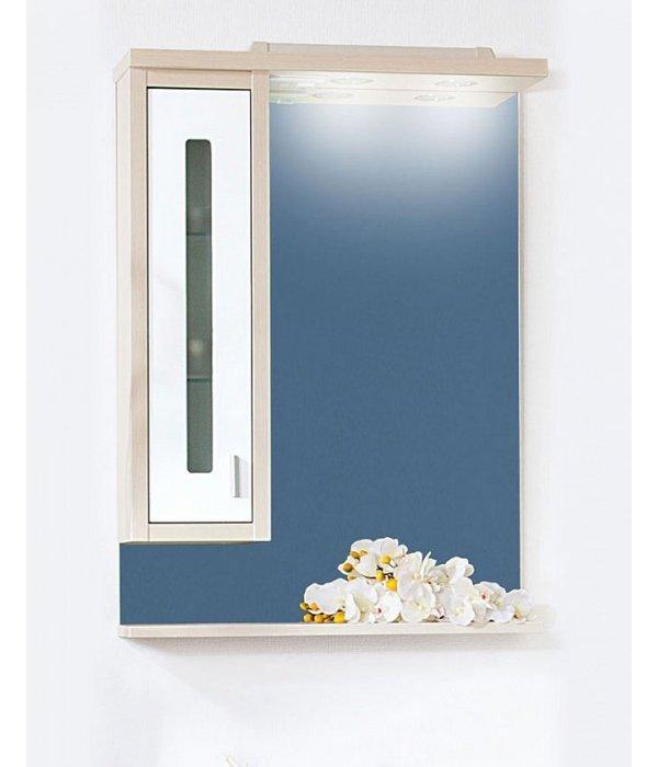 Зеркало Бали 62 светлая лиственница