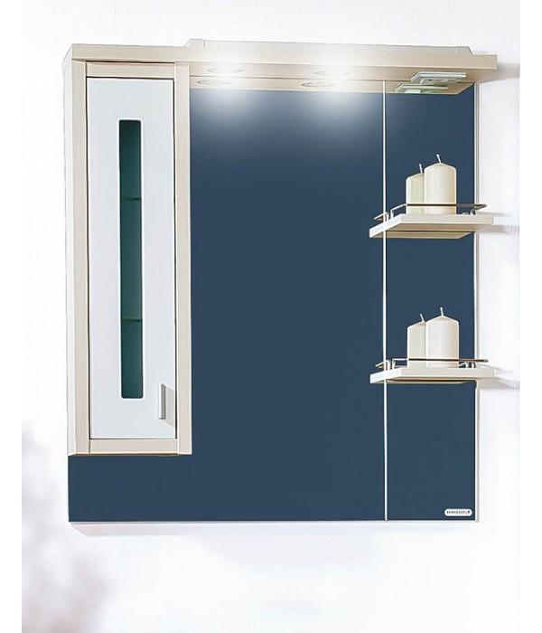 Зеркало Бриклаер Бали 75 Светлая лиственница