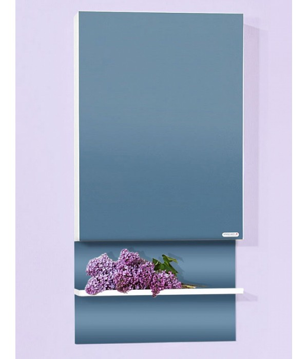 Зеркальный шкаф Бриклаер Аргентина 50 белый глянец