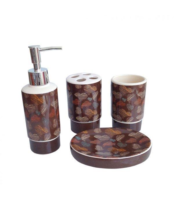 AUTUMN Набор аксессуаров для ванной, 4 предмета