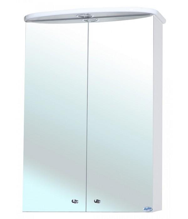 Зеркальный шкаф Bellezza Мимоза 50