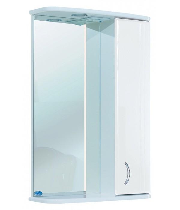 Зеркало-шкаф Bellezza Астра 55, белый
