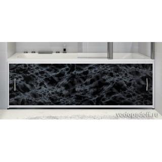 Экран под ванну Francesca Premium чёрный мрамор Размер на заказ изготовление 1-2 дня