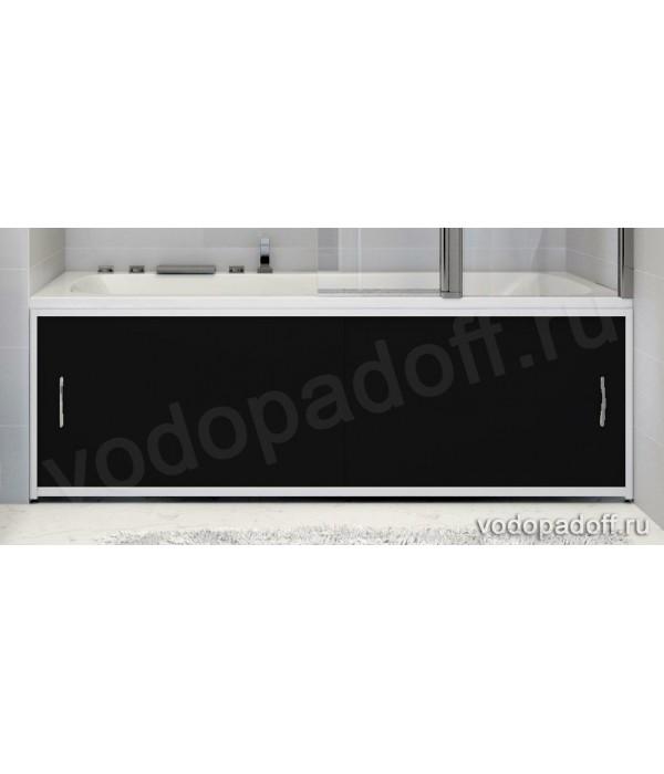 Экран под ванну Francesca Premium чёрный Размер на заказ изготовление 1-2 дня