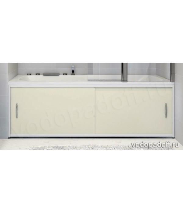 Экран для ванной Francesca Premium кремовый Размер на заказ изготовление 1-2 дня