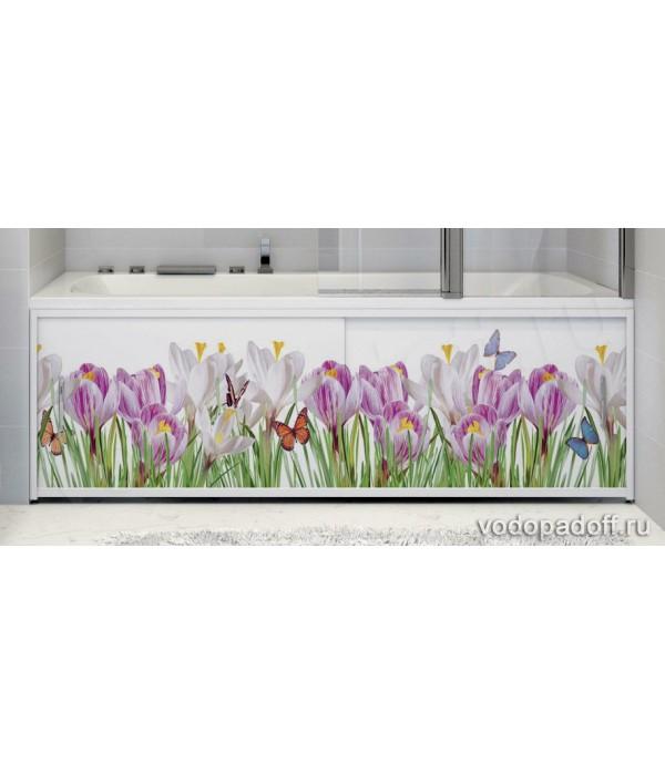Фотоэкран для ванны Francesca Premium Нежные краски Размер на заказ изготовление 1-2 дня