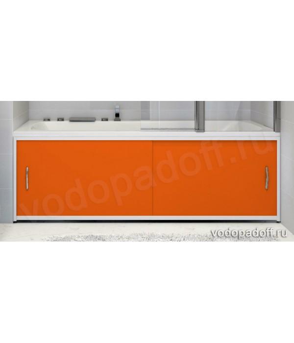 Экран под ванну Francesca Premium оранжевый Размер на заказ изготовление 1-2 дня