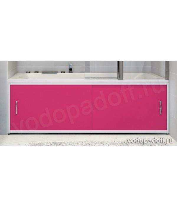 Экран для ванной Francesca Premium розовый Размер на заказ изготовление 1-2 дня