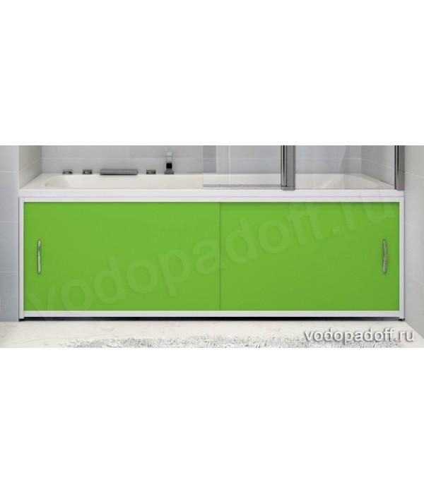 Экран для ванной Francesca Premium салатовый Размер на заказ изготовление 1-2 дня