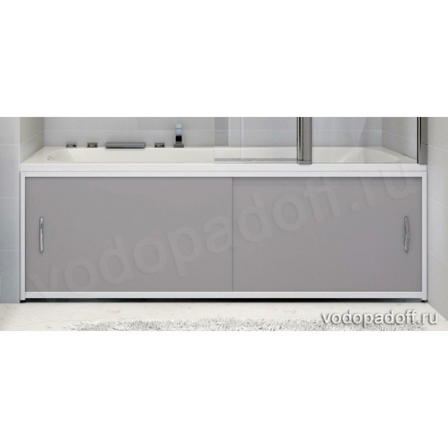Экран для ванной Francesca Premium серый Размер на заказ изготовление 1-2 дня