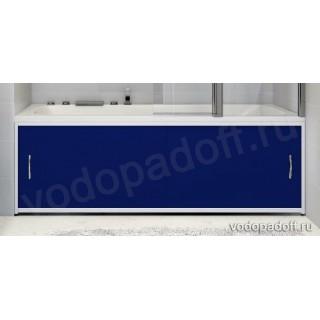 Экран для ванной Francesca Premium синий Размер на заказ изготовление 1-2 дня