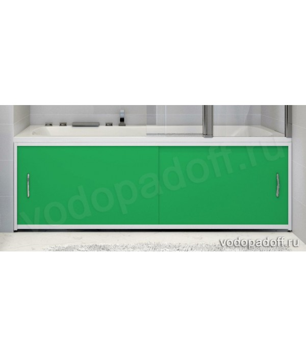 Экран для ванной Francesca Premium темно-зелёный Размер на заказ изготовление 1-2 дня