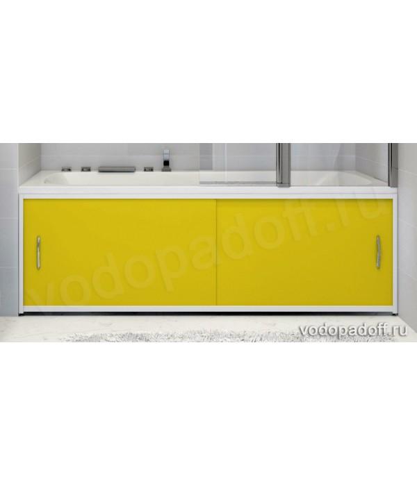 Экран для ванной Francesca Premium жёлтый Размер на заказ изготовление 1-2 дня