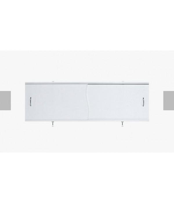 Экран под ванну раздвижной 170 28П белый глянец