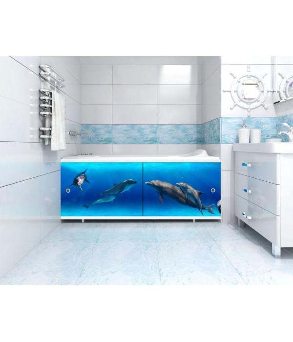 Экран под ванну Метакам 70 см торцевой Ультралегкий Арт