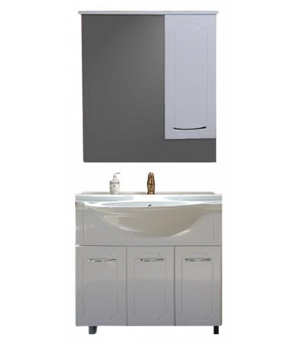 Комплект мебели Grace Ианта 75 белый глянец