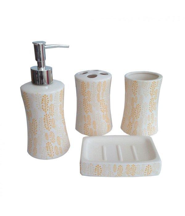ORANGE Набор аксессуаров для ванной, 4 предмета