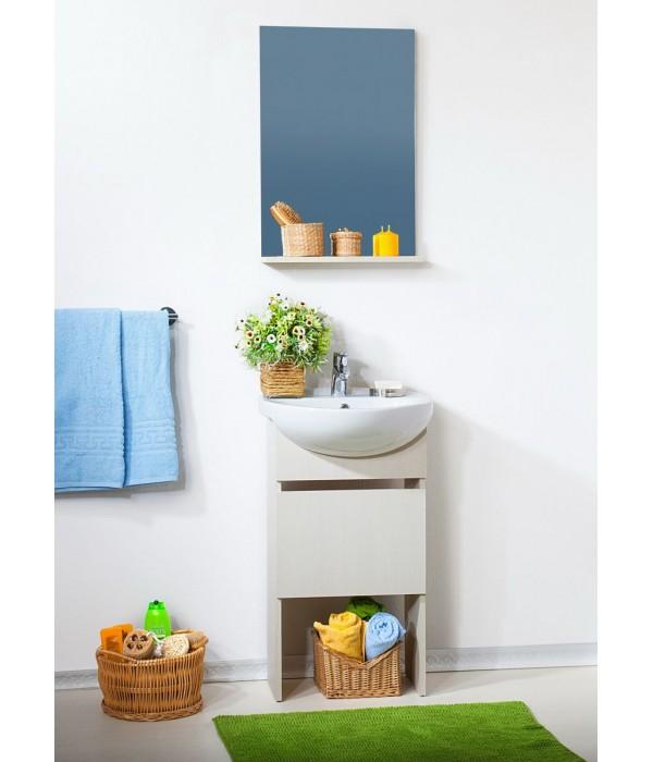 Комплект мебели Бриклаер Катюша 50 светлая лиственница