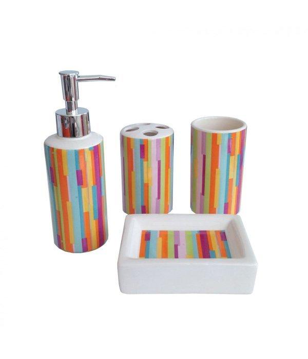 STRIPS Набор аксессуаров для ванной, 4 предмета