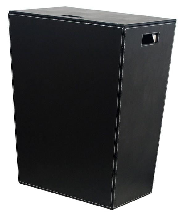 Корзина для белья Koh-i-Noor Ecopelle 2463BK черная