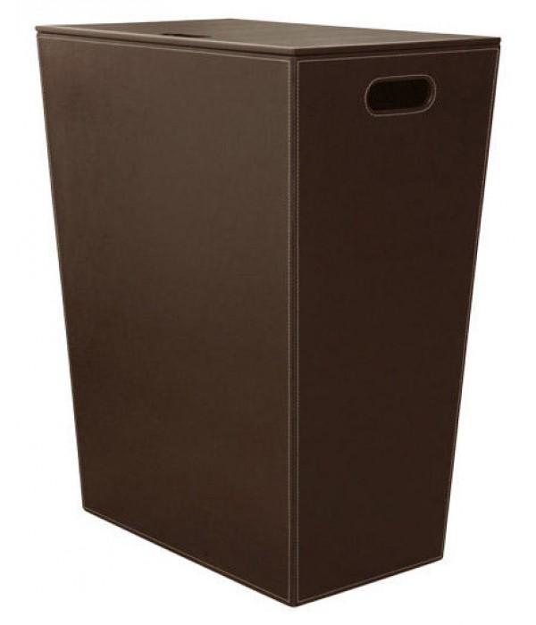 Корзина для белья Koh-i-Noor Ecopelle 2463DB коричневая