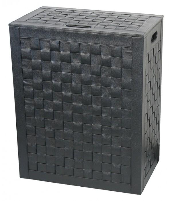 Корзина для белья Koh-i-Noor Intrecci 2963BK черная