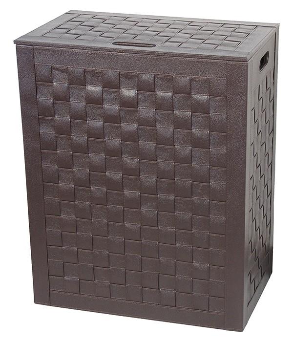 Корзина для белья Koh-i-Noor Intrecci 2963DB коричневая